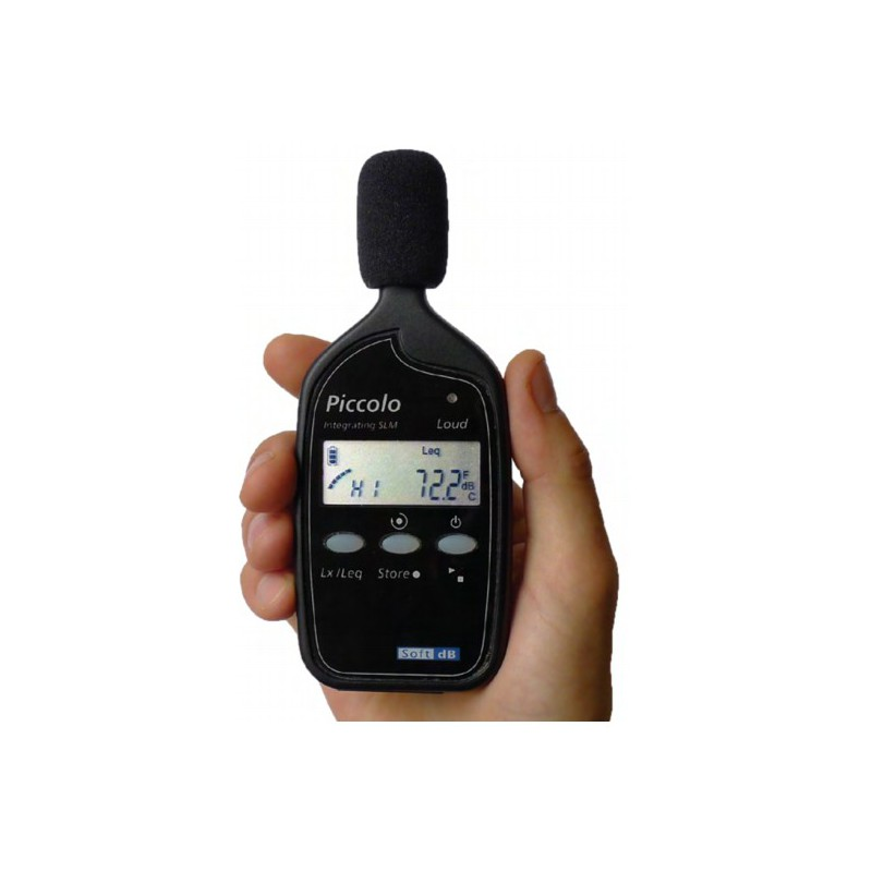 Professional integrating Sound Level Meter and Data Logging