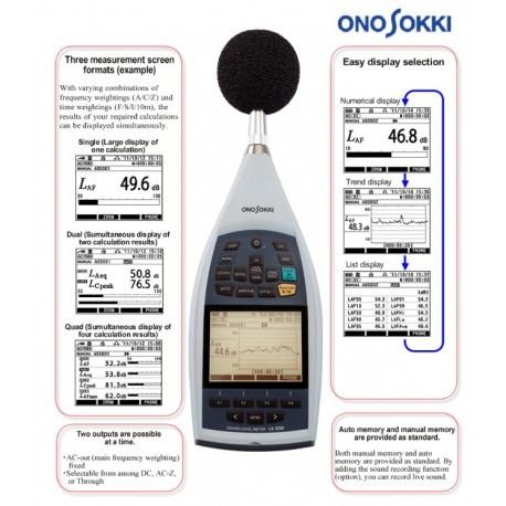 09. LA-3560 High Function Sound Level Meter