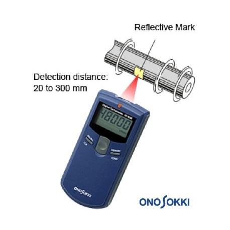 10. Non-contact Type Handheld Digital Tachometer HT-4200