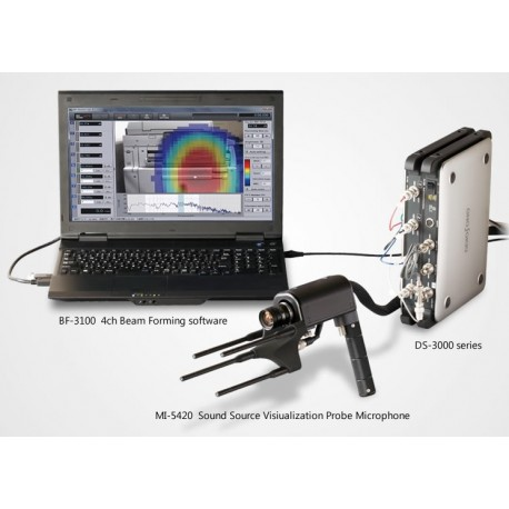 10.  4ch Beam Forming Software BF-3100