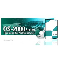 15. The Time-Series Data Analysis Software, OS-2000 Series
