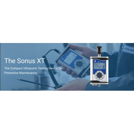 02. The Sound XT - THe Compact Ultrasonic Testing Devices for Preventive Maintenance