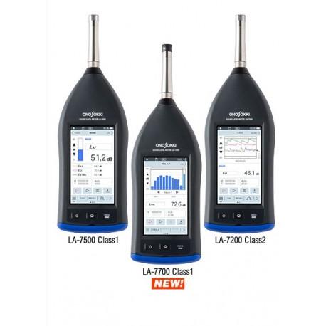 13. LA-7000 series High performance Sound Level Meter